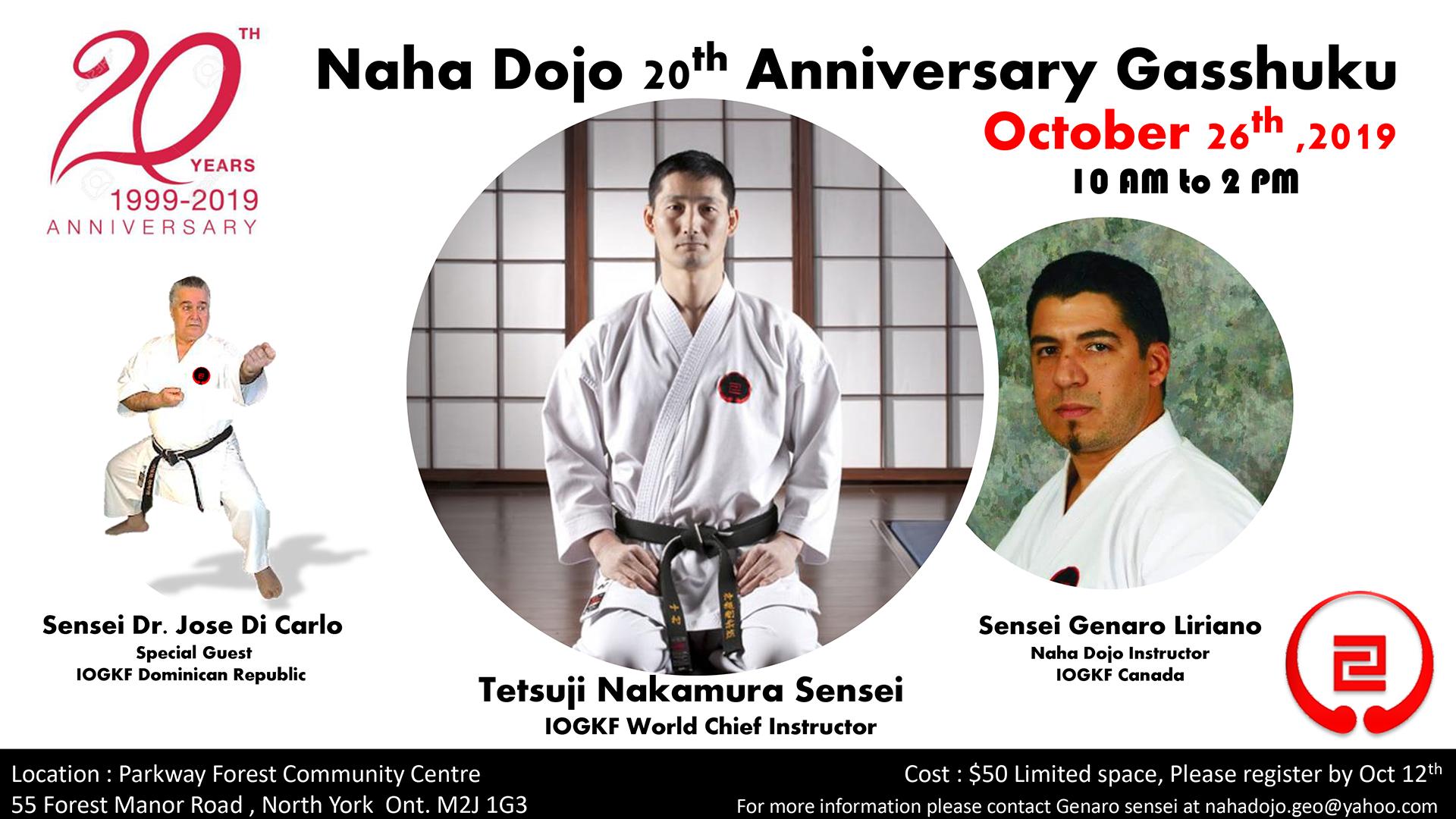 Naha Dojo Poster -1